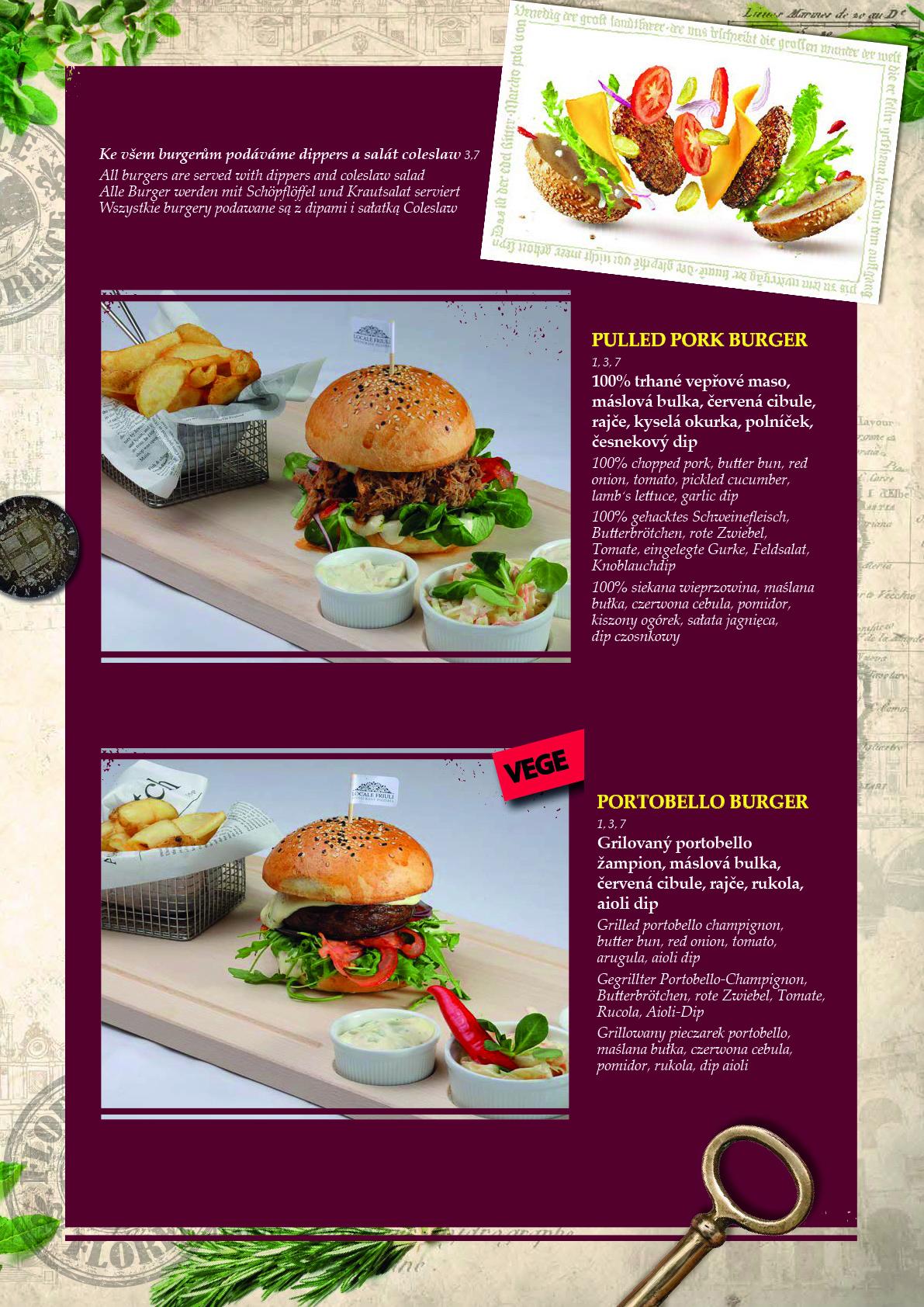 Obědové a večerní menu 7